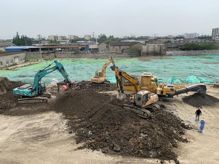 上海某场地(二期)土壤修复