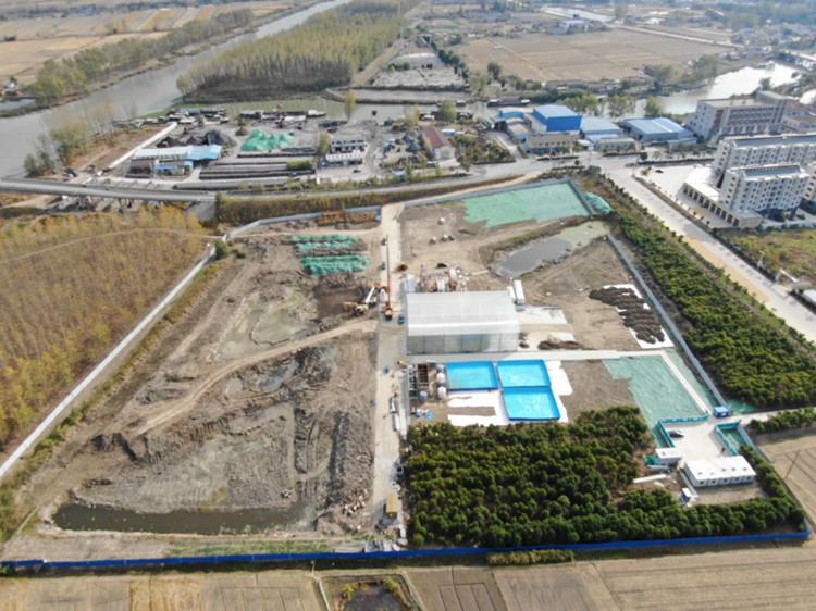 江苏某化工厂地修复项目