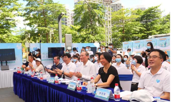 倡导低碳生活,守护碧水蓝天, ——亚虎手机客户端亚虎pt手机客户端下载应邀参加深圳市全国低碳日宣传活动